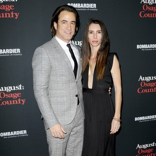 Dermot Mulroney, Tharita Catulle in The Weinstein Company Presents The LA Premiere of August: Osage County