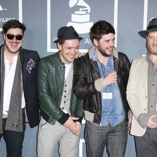 Mumford & Sons in 55th Annual GRAMMY Awards - Arrivals