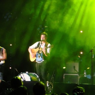 Mumford & Sons in Mumford and Sons Performing at A Charity Gig for AFC Wimbledon