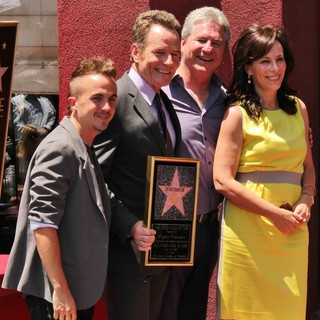 Jane Kaczmarek in Bryan Cranston Honored with Star on The Hollywood Walk of Fame - muniz-cranston-boomer-kaczmarek-bryan-cranston-walk-of-fame-01
