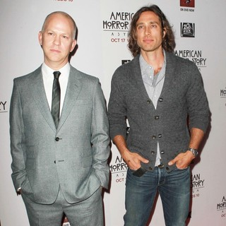 Ryan Murphy, Brad Falchuk in Premiere Screening of FX's American Horror Story: Asylum