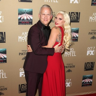 Lady GaGa - Premiere Screening of FX's American Horror Story: Hotel - Arrivals