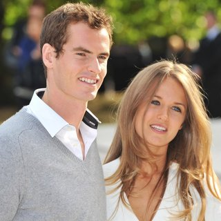 Andy Murray, Kim Sears in London Fashion Week: Burberry Spring-Summer 2012 Fashion Show - Arrivals