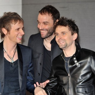 Muse in The 2013 Brit Awards - Arrivals