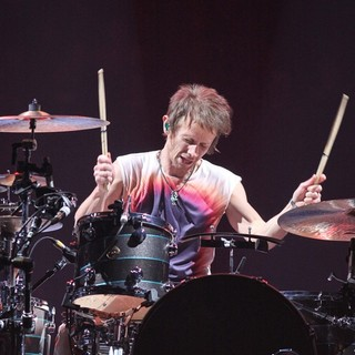 Dominic Howard, Muse in Muse Performing Live in Concert at The Hartwall Arena