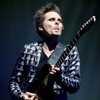 Matthew Bellamy, Muse in Muse Performing Live in Concert at The Hartwall Arena