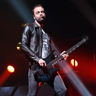 Chris Wolstenholme, Muse in Muse Performing Live in Concert at The Hartwall Arena