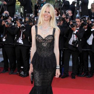Claudia Schiffer in 2011 Cannes International Film Festival - Day 10 - This Must Be the Place - Premiere