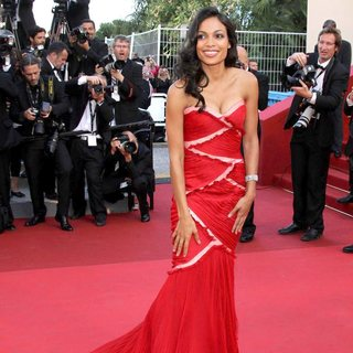 Rosario Dawson in 2011 Cannes International Film Festival - Day 10 - This Must Be the Place - Premiere
