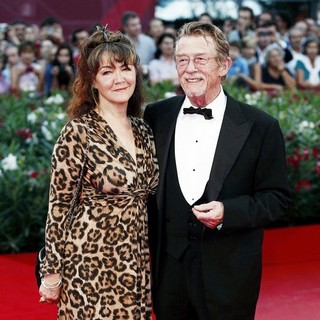 Anwen Rees-Myers, John Hurt in The 68th Venice Film Festival - Day 6 - Tinker, Tailor, Soldier, Spy - Premiere