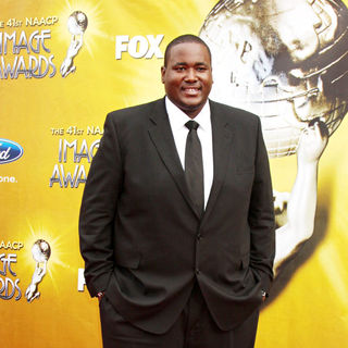 Quinton Aaron in 41st NAACP Image Awards - Arrivals