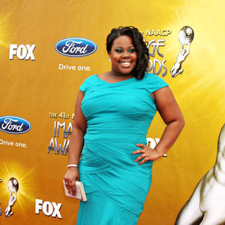 Amber Riley in 41st NAACP Image Awards - Arrivals