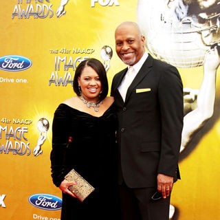 Chandra Wilson, James Pickens Jr. in 41st NAACP Image Awards - Arrivals