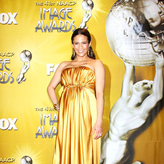 Paula Patton in 41st NAACP Image Awards - Press Room