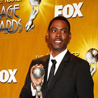Chris Rock in 41st NAACP Image Awards - Press Room