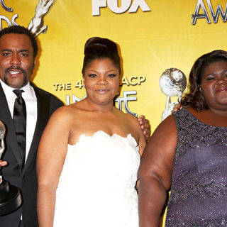 Lee Daniels, Mo'Nique, Gabourey Sidibe in 41st NAACP Image Awards - Press Room
