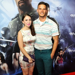 Nacho Pop in G.I. Joe: Retaliation - Sydney Premiere