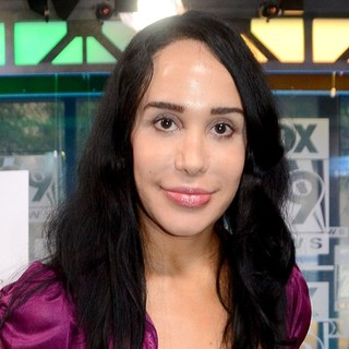 Nadya Suleman in Nadya Suleman Makes An Appearance at TV Fox 29 Station