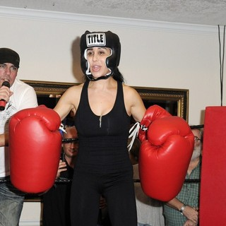 Nadya Suleman in Big Bang Celebrity Boxing Match