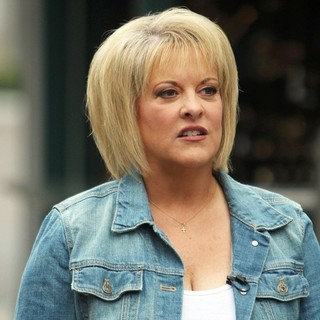 Nancy Grace in Film An Appearance for The Entertainment Television News Programme Extra