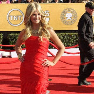 Nancy O'Dell in The 18th Annual Screen Actors Guild Awards - Arrivals