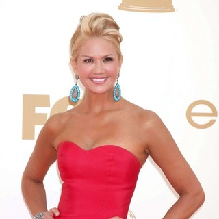 Nancy O'Dell in The 63rd Primetime Emmy Awards - Arrivals