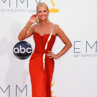 Nancy O'Dell in 64th Annual Primetime Emmy Awards - Arrivals