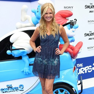 Nancy O'Dell in The Los Angeles Premiere of The Smurfs 2 - Arrivals
