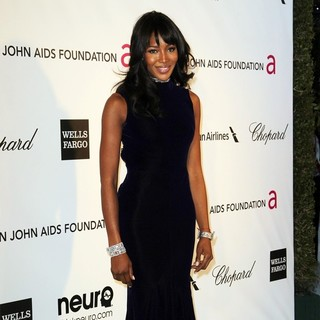 Naomi Campbell in 21st Annual Elton John AIDS Foundation's Oscar Viewing Party