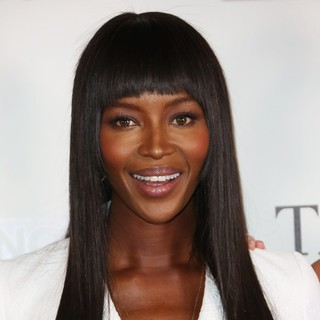 Naomi Campbell in The Face TV Press Launch - Arrivals