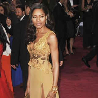 Naomie Harris in The 85th Annual Oscars - Red Carpet Arrivals