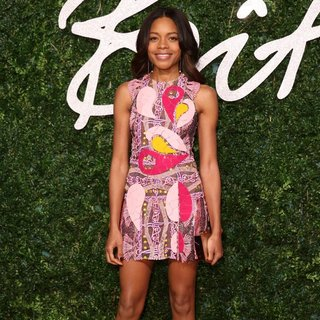 Naomie Harris in The British Fashion Awards 2014 - Arrivals