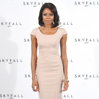 Naomie Harris in The 23rd James Bond Movie Photocall