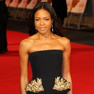 Naomie Harris in The Royal Film Performance of Mandela: Long Walk to Freedom - Arrivals
