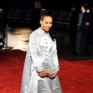 Rebecca Ferguson in Royal Film Performance 2010: The Chronicles of Narnia: The Voyage of the Dawn Treader