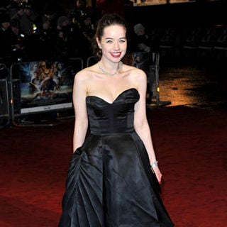 Anna Popplewell in Royal Film Performance 2010: The Chronicles of Narnia: The Voyage of the Dawn Treader