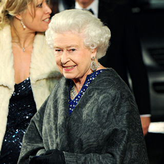 Queen Elizabeth II in Royal Film Performance 2010: The Chronicles of Narnia: The Voyage of the Dawn Treader