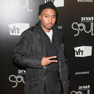 Nas in The VH1 Divas Celebrates Soul - Arrivals