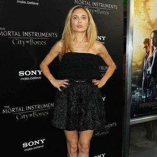 Natalie Gal in Premiere of Screen Gems and Constantin Films' The Mortal Instruments: City of Bones