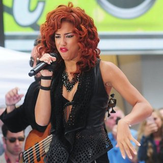 Natalie La Rose in Natalie La Rose Performs on The Today Show as Part of NBC's Toyota Concert Series