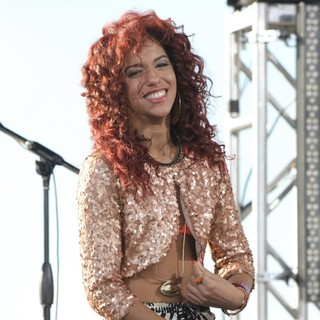 Natalie La Rose in Natalie La Rose Performs Live on NBC's Today