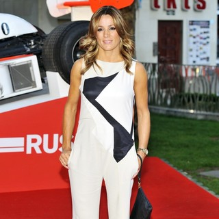 Natalie Pinkham in World Premiere of Rush - Arrivals