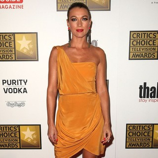 Natalie Zea in 2012 Critics' Choice TV Awards - Arrivals