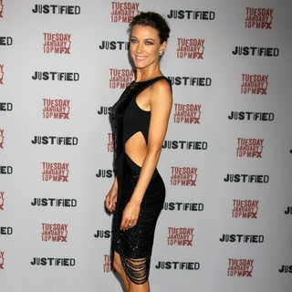 Natalie Zea - Justified Premiere Screening - Directors Guild of America