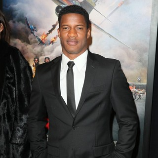 Nate Parker in The New York Premiere of Red Tails