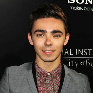 Nathan Sykes, The Wanted in Premiere of Screen Gems and Constantin Films' The Mortal Instruments: City of Bones