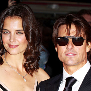 Katie Holmes, Tom Cruise in National Movie Awards - Arrivals