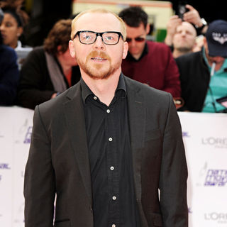Simon Pegg in National Movie Awards - Arrivals