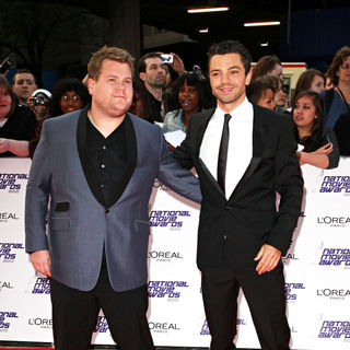James Corden, Dominic Cooper in National Movie Awards - Arrivals