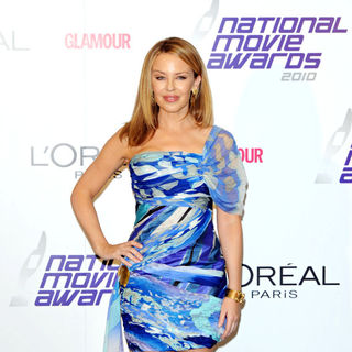 Kylie Minogue in National Movie Awards - Press Room